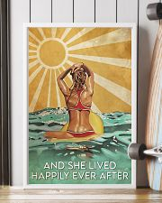 Surfing And She Lived Happily Ever After  11x17 Poster lifestyle-poster-4