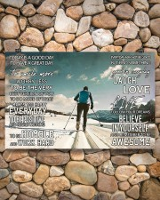 Skiing Today Is A Good Day 17x11 Poster aos-poster-landscape-17x11-lifestyle-15