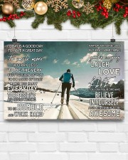 Skiing Today Is A Good Day 17x11 Poster aos-poster-landscape-17x11-lifestyle-28