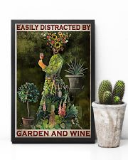 Gardening Easily Distracted By Garden And Wine 11x17 Poster lifestyle-poster-8