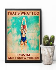 Swimming - I Swim And I Know Things 11x17 Poster lifestyle-poster-8
