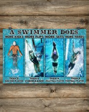Swimming Swimmers 17x11 Poster aos-poster-landscape-17x11-lifestyle-14