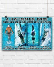 Swimming Swimmers 17x11 Poster aos-poster-landscape-17x11-lifestyle-17