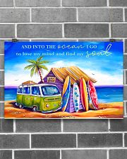 Surfing - Into The Ocean I Go To Lose My Mind 17x11 Poster poster-landscape-17x11-lifestyle-18