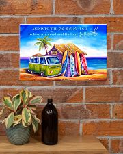 Surfing - Into The Ocean I Go To Lose My Mind 17x11 Poster poster-landscape-17x11-lifestyle-23