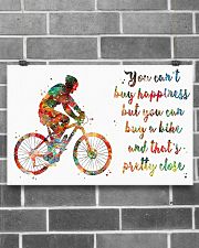 Cycling Pretty Close 17x11 Poster poster-landscape-17x11-lifestyle-18