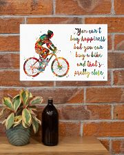 Cycling Pretty Close 17x11 Poster poster-landscape-17x11-lifestyle-23