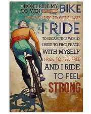 Cycling Feel Strong 11x17 Poster front