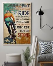 Cycling Feel Strong 11x17 Poster lifestyle-poster-1