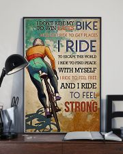 Cycling Feel Strong 11x17 Poster lifestyle-poster-2