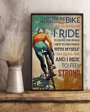 Cycling Feel Strong 11x17 Poster lifestyle-poster-3