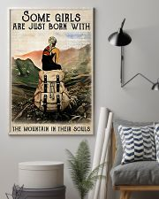 Hiking Girls Are Just Born With The Mountain 11x17 Poster lifestyle-poster-1