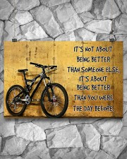 Cycling Better The Day Before 17x11 Poster aos-poster-landscape-17x11-lifestyle-13