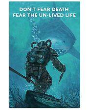 Scuba Diving Don't Fear Death 11x17 Poster front