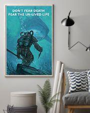 Scuba Diving Don't Fear Death 11x17 Poster lifestyle-poster-1