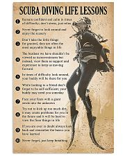 Scuba Diving Life Lessons 11x17 Poster front