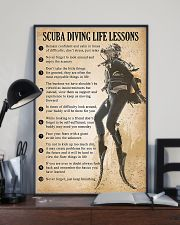 Scuba Diving Life Lessons 11x17 Poster lifestyle-poster-2