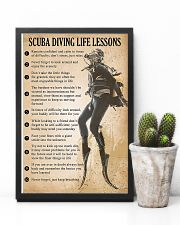 Scuba Diving Life Lessons 11x17 Poster lifestyle-poster-8