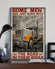 Some Men Are Just Born With The Road In Their Soul 11x17 Poster lifestyle-poster-2