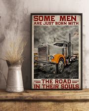 Some Men Are Just Born With The Road In Their Soul 11x17 Poster lifestyle-poster-3