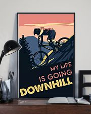 Cycling Downhill 11x17 Poster lifestyle-poster-2