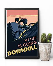 Cycling Downhill 11x17 Poster lifestyle-poster-8