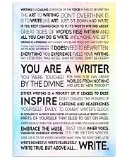 Writer Manifesto 11x17 Poster front