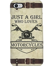 Just A Girl Who Loves Motorcycles Phone Case i-phone-7-case