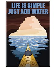 Kayaking Life Is Simple 11x17 Poster front