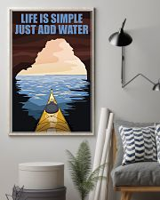 Kayaking Life Is Simple 11x17 Poster lifestyle-poster-1