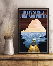 Kayaking Life Is Simple 11x17 Poster lifestyle-poster-3
