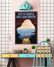 Kayaking Life Is Simple 11x17 Poster lifestyle-poster-6