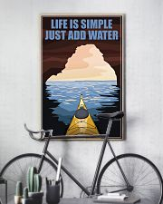 Kayaking Life Is Simple 11x17 Poster lifestyle-poster-7