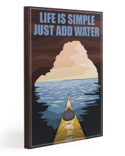 Kayaking Life Is Simple 20x30 Gallery Wrapped Canvas Prints thumbnail