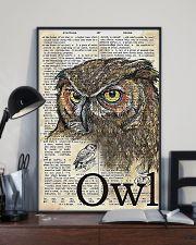Owl Art 11x17 Poster lifestyle-poster-2