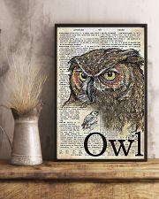 Owl Art 11x17 Poster lifestyle-poster-3