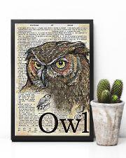 Owl Art 11x17 Poster lifestyle-poster-8