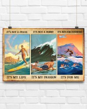 Surfing - It's Not A Phase It's My Life 17x11 Poster aos-poster-landscape-17x11-lifestyle-17