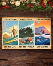 Surfing - It's Not A Phase It's My Life 17x11 Poster aos-poster-landscape-17x11-lifestyle-27