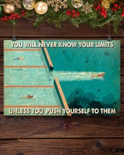 Swimming You Will Never Know Your Limits  17x11 Poster aos-poster-landscape-17x11-lifestyle-27