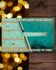 Swimming You Will Never Know Your Limits  17x11 Poster aos-poster-landscape-17x11-lifestyle-29
