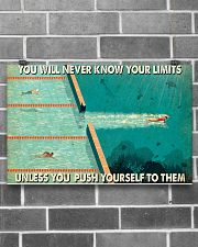 Swimming You Will Never Know Your Limits  17x11 Poster poster-landscape-17x11-lifestyle-18