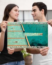 Swimming You Will Never Know Your Limits  17x11 Poster poster-landscape-17x11-lifestyle-20