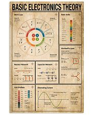 Electrician Basic Electronics Theory 11x17 Poster front