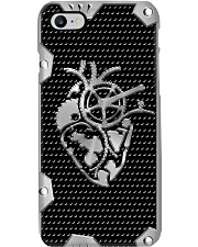 Cycling Metal Heart Phone Case i-phone-7-case