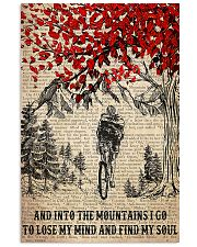 Cycling I Go To Lose My Mind And Find My Soul 11x17 Poster front