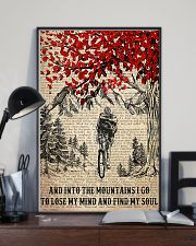 Cycling I Go To Lose My Mind And Find My Soul 11x17 Poster lifestyle-poster-2