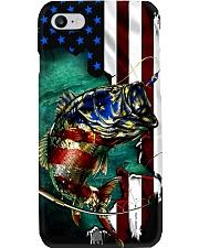 Fishing US Flag Phone Case i-phone-8-case