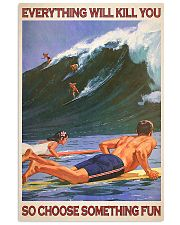 Surfing - Choose Something Fun 11x17 Poster front