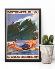 Surfing - Choose Something Fun 11x17 Poster lifestyle-poster-8